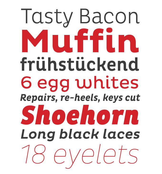 Pluto font sample