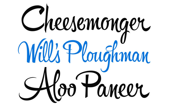 In the continuing avalanche of new script fonts those designed by