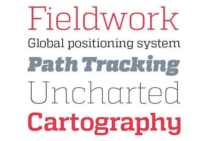 Quadon font sample