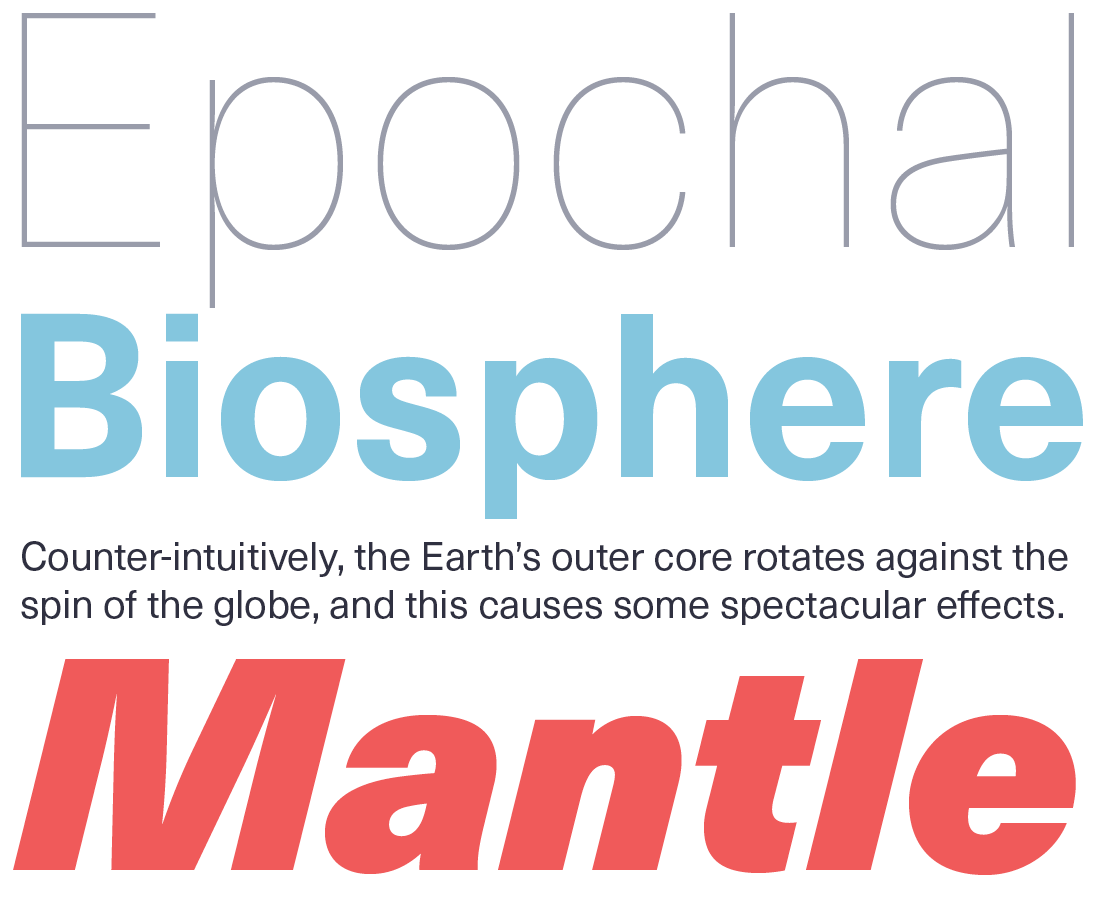 Neue Haas Unica font sample