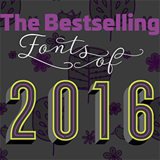 MyFonts Best of 2016